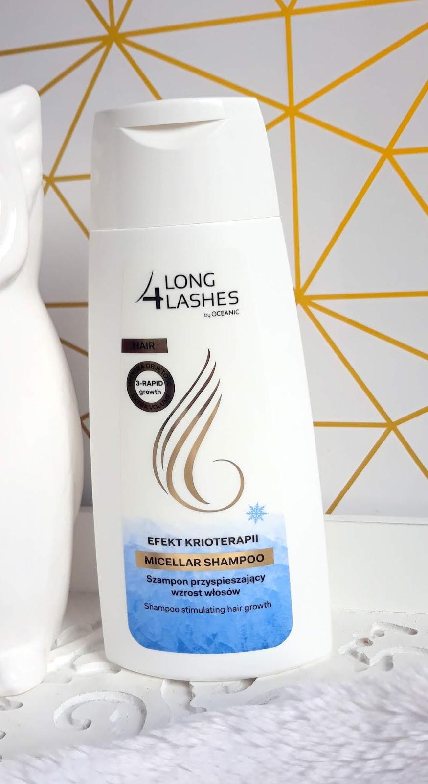 LONG4LASHES produkty z efektem krioterapii