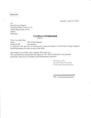 Contoh Surat Pernyataan Kerja Freelance
