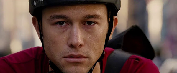 Screen Shot Of Hollywood Movie Premium Rush (2012) In Hindi English Full Movie Free Download And Watch Online at worldfree4u.com