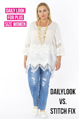 Dailylook vs Stitch fix | Daily Look Plus size Fashion