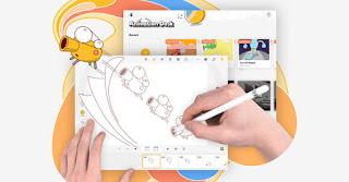aplikasi pembuat animasi animation desk