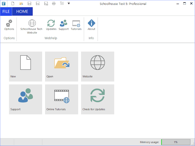 Screenshot Schoolhouse Test Pro 5.1.2.4 Full Version