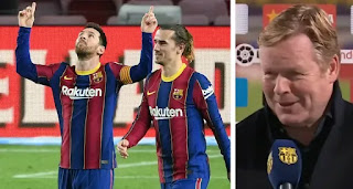 Koeman reacts to Messi and Griezmann bangers: Barcelona need to start scoring from distance