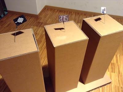 esposizione, colore, onda, cartone, swing, cardboard, paper