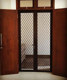 Proyek Pintu Ram Nyamuk pak Dendi