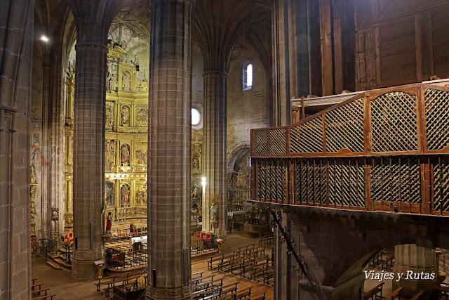 Vista desde la escalera monumental de la Iglesia de Nuestra Señora de la Asunción, Briones
