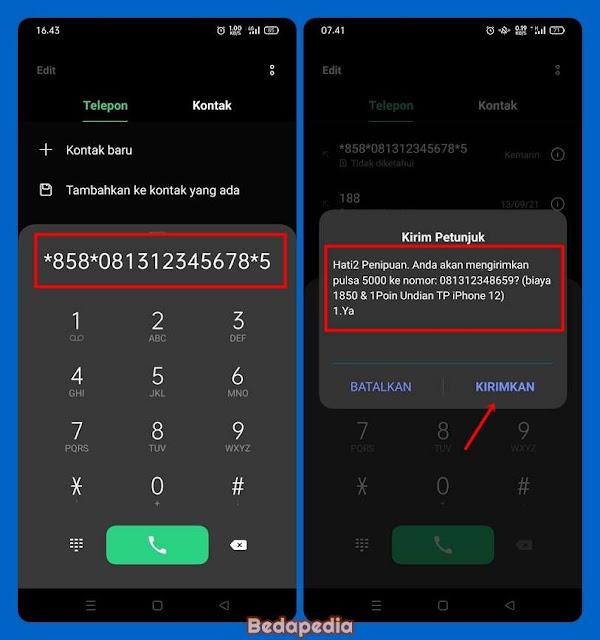Kode Transfer Pulsa Telkomsel