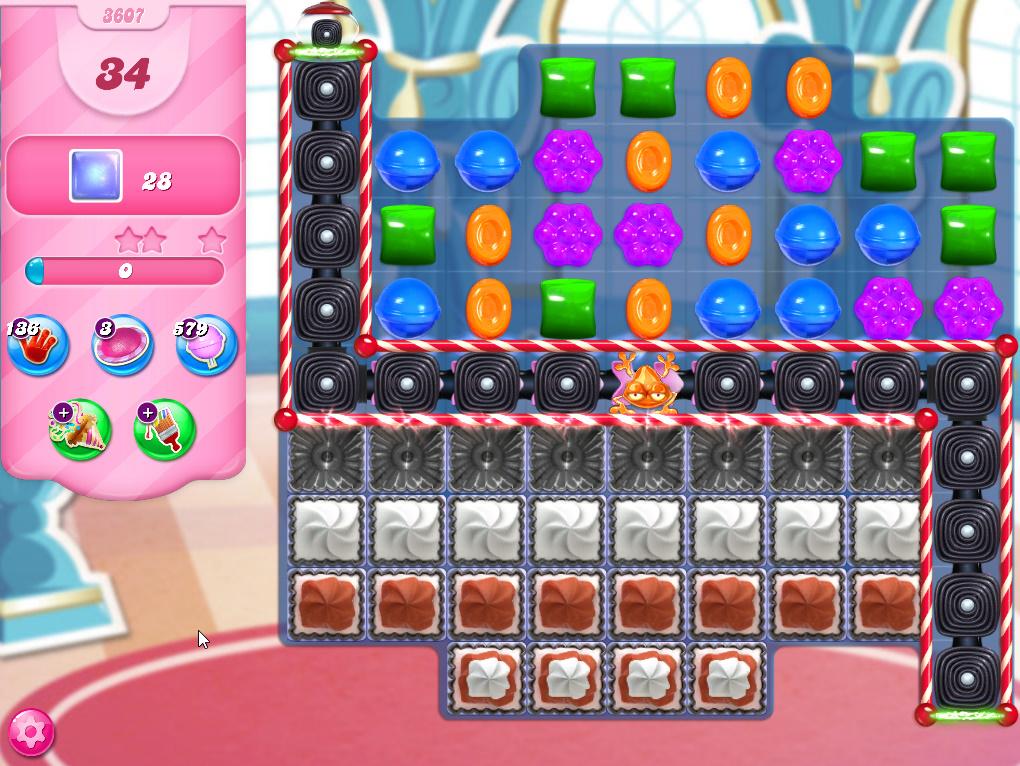 Candy Crush Saga level 3607