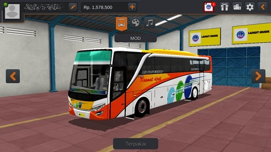 Livery JBHD2 New Setra MD Creation Kramat Djati