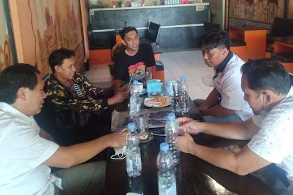 Sinergi Tangkal Radikalisme Kasat Intelkam Polres Maros  Silaturahmi Dengan Ketua GP Ansor Maros