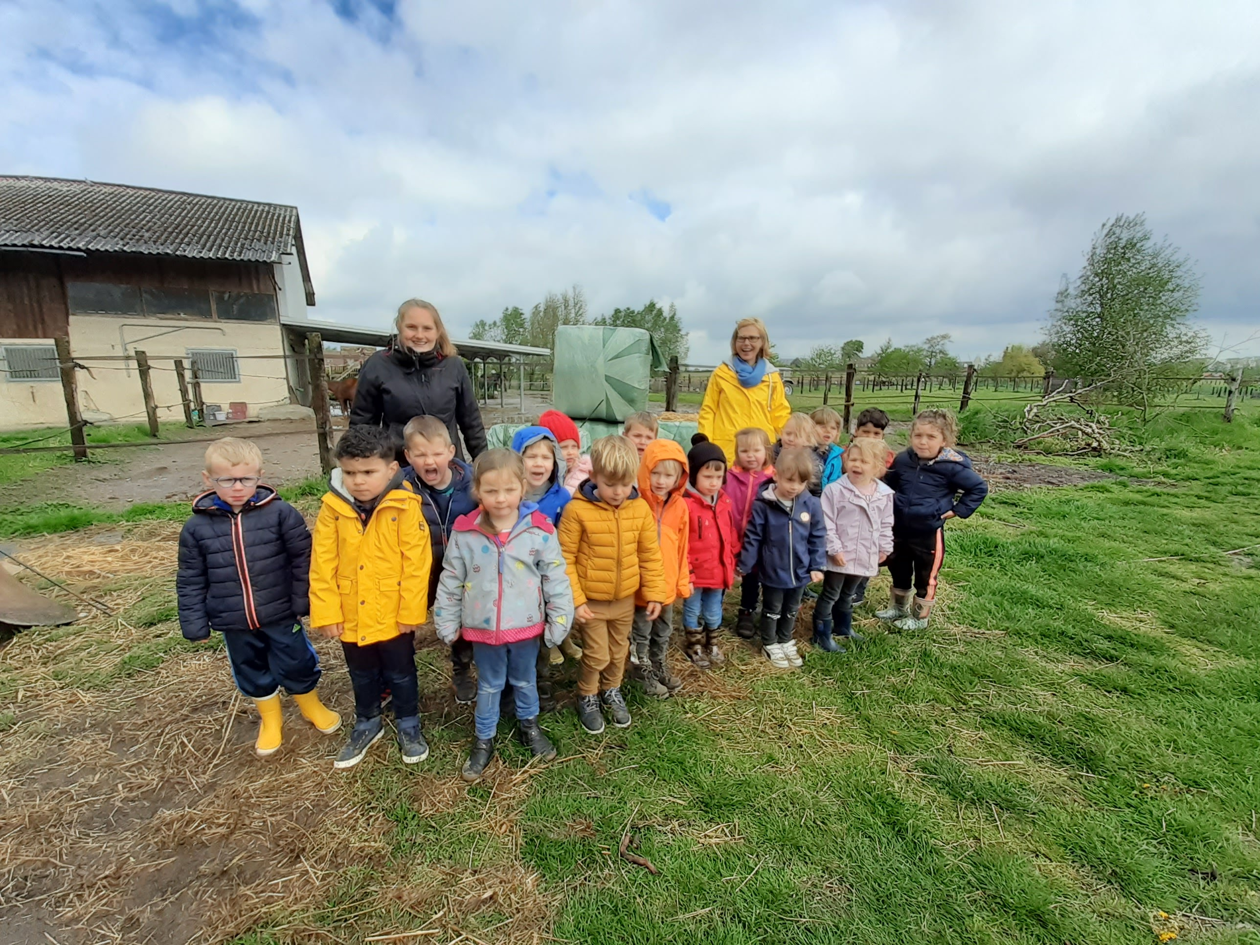 Vbs O L V Van Vreugde Een Bezoek Aan De Kinderboerderij