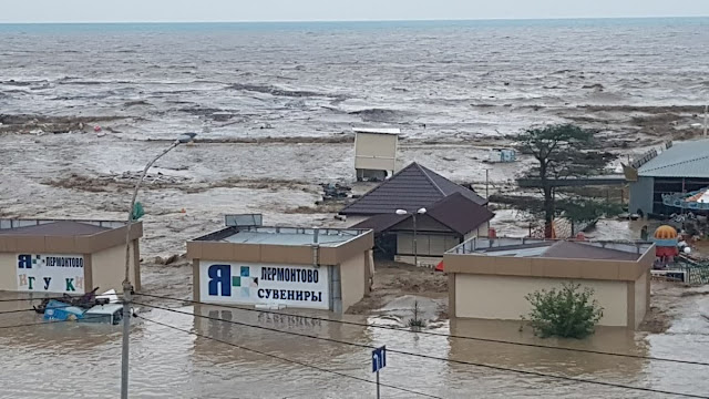 Вслед за Сочи стихия ударила по Туапсе, Горячему Ключу и Лермонтово