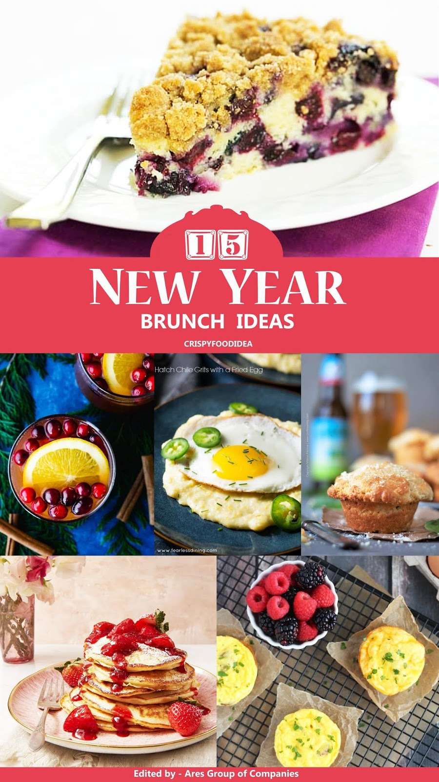New Year's Day Brunch Ideas - 15 Best Recipes to Start New Year