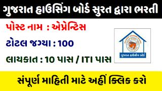 Gujarat Housing Recruitment