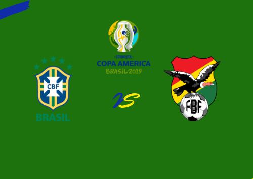 Brasil vs Bolivia / Resumen Y;