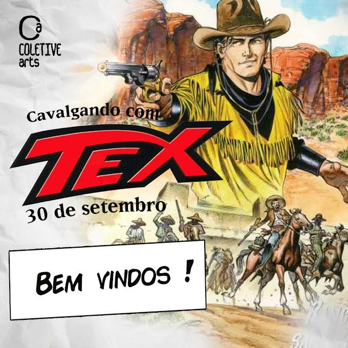 EXPOSIÇÃO CAVALGANDO COM TEX