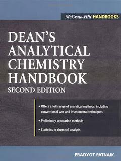 Dean's Analytical Chemistry Handbook 2nd edition