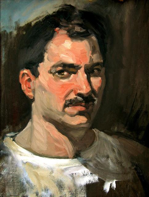 Bill Angresano, Self Portrait, Portraits of Painters, Fine arts, Portraits of painters blog, Paintings of Bill Angresano, Painter Bill Angresano
