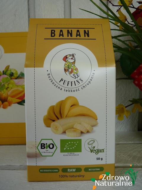 Puffins - Przyjemność chrupania - Banan