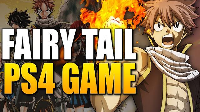 Fairy Tail terá um novo jogo de RPG lançado em 2020