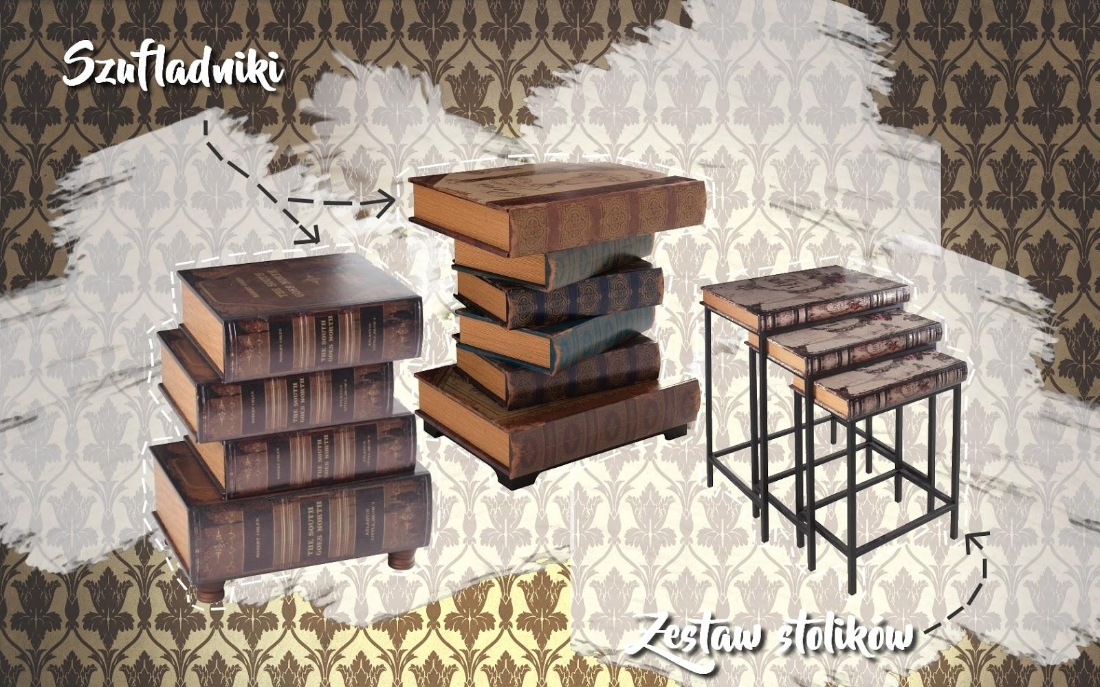 1 mieszkanie w stylu sherlocka holmesa westwing melodylaniella stylowe szufladniki ksiązki ciekawe dodatki do domu salonu