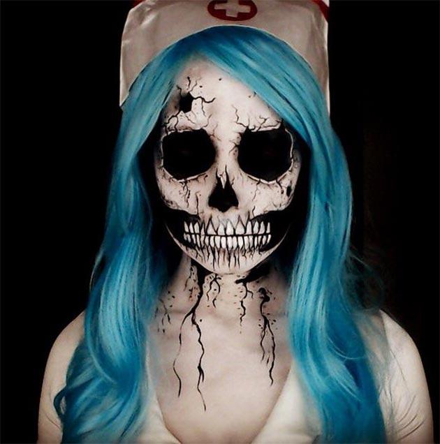 halloween makeup ideas scary