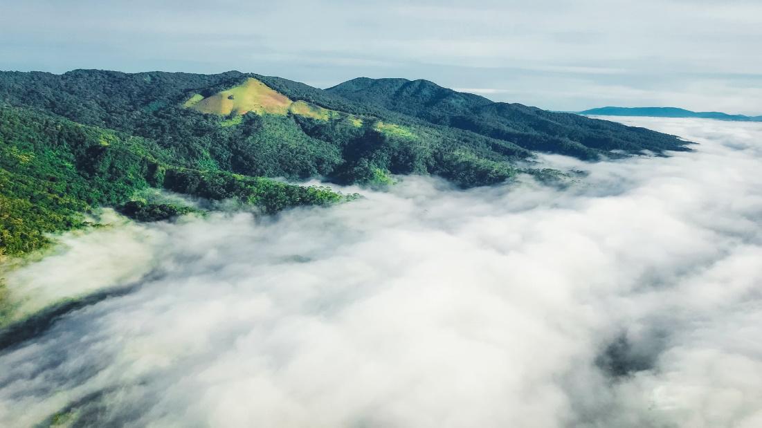 Điểm săn mây tại núi Ngọc Lễ- Măng Đen