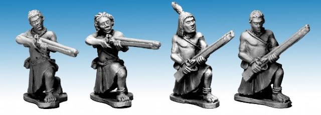 Northstar Miniatures: New Darkest Africa Ruga Ruga