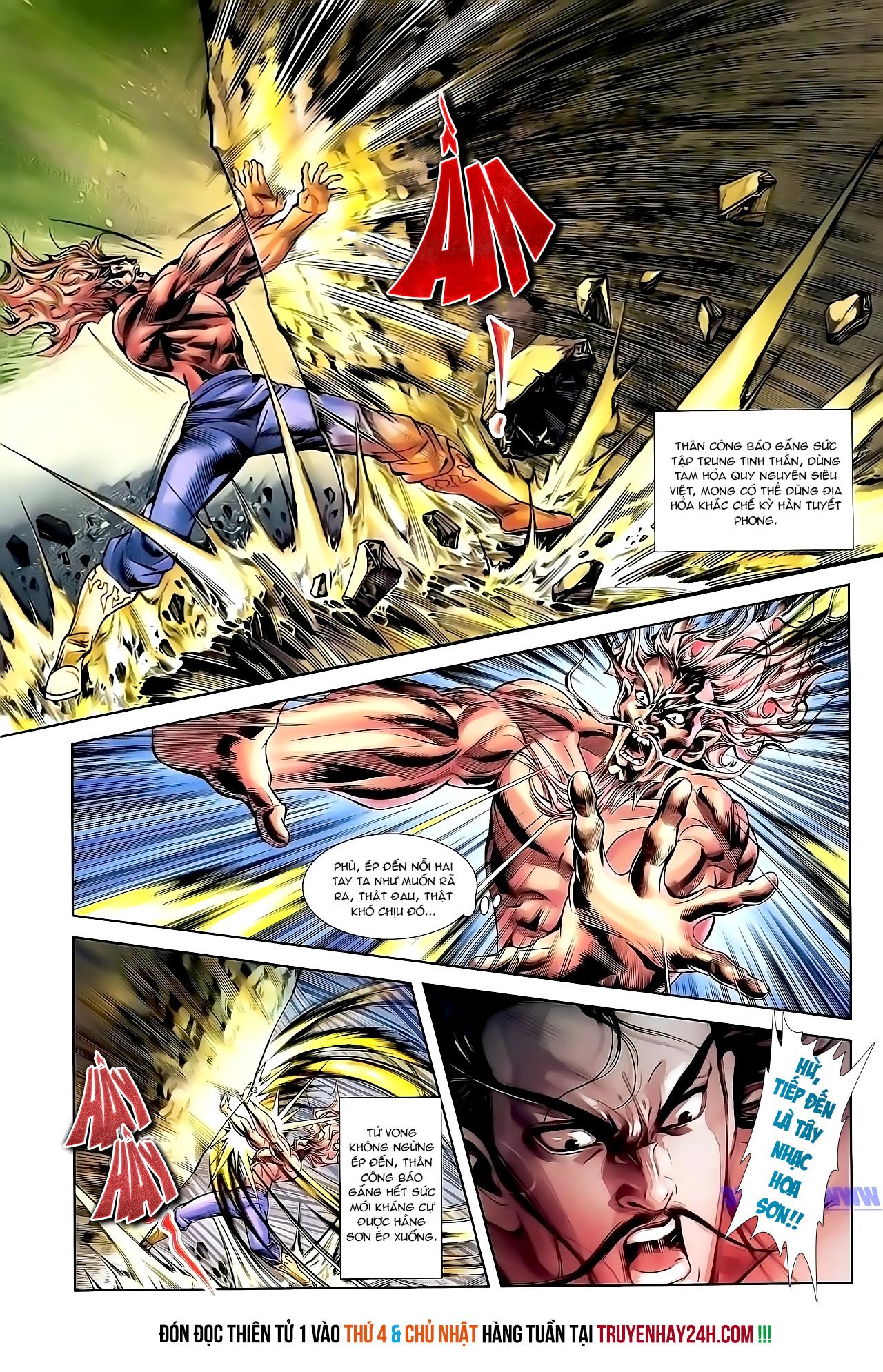 Cơ Phát Khai Chu Bản chapter 158 trang 28