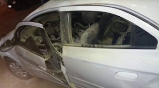 Quatro carros são incendiados na abertura do São João de Soledade