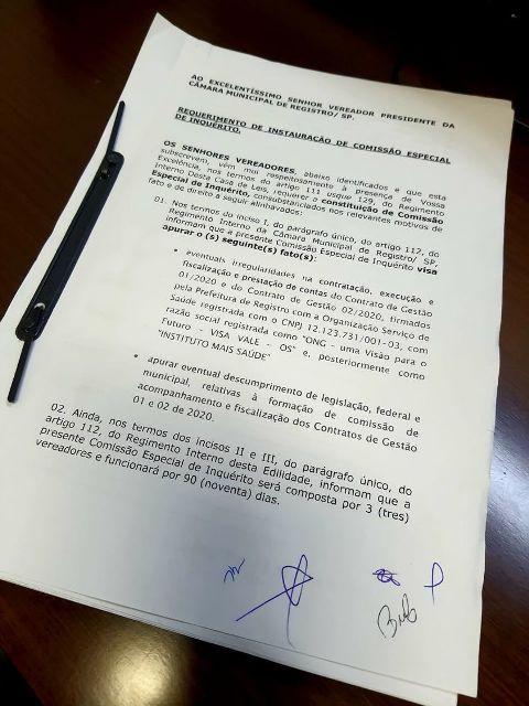Câmara Municipal instaura Comissão Especial de Inquérito para apurar possíveis irregularidades na contratação de Gestores para a UPA