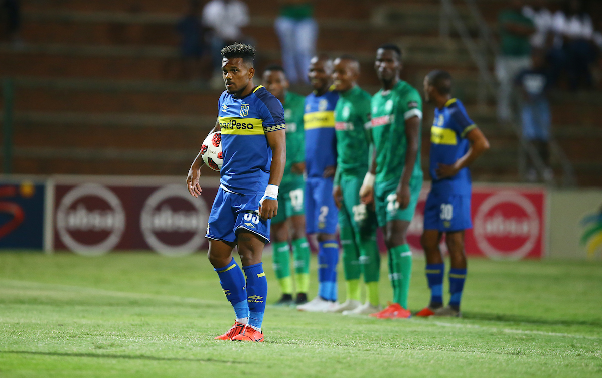 Cape Town City forward Kermit Erasmus