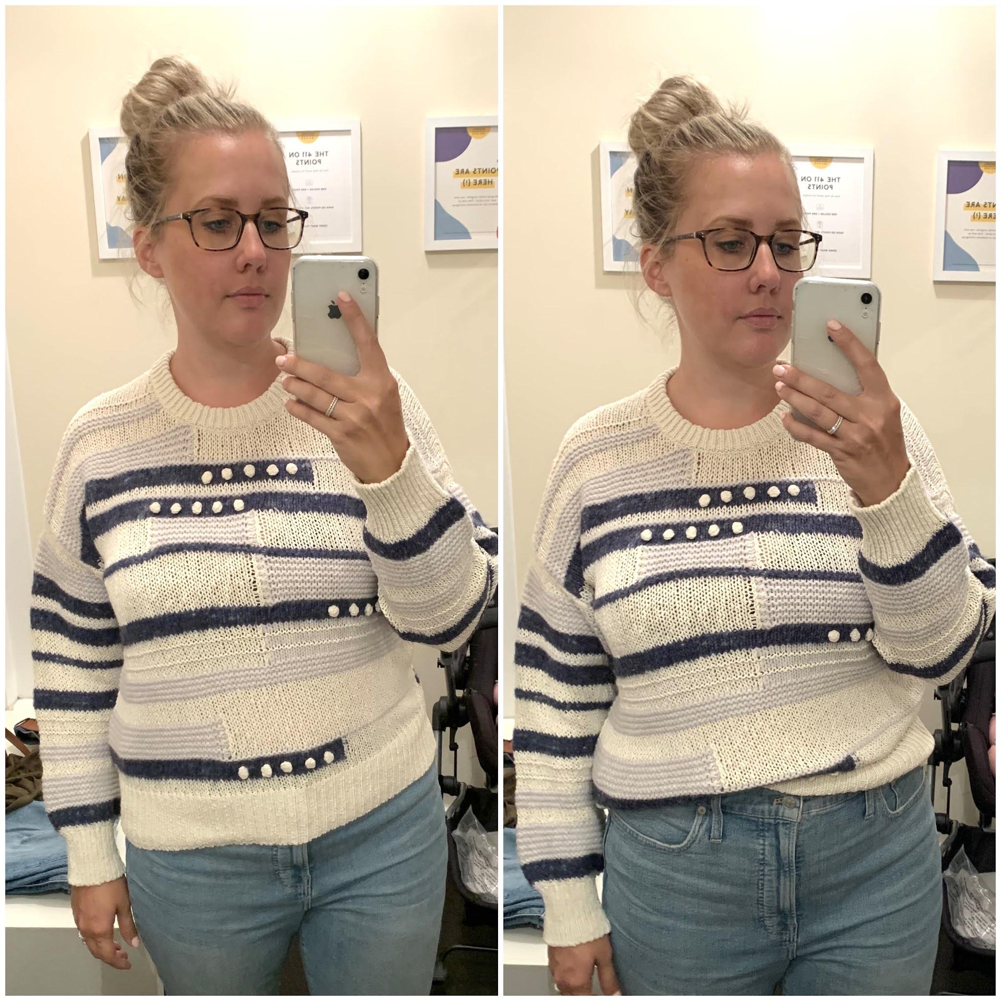 Grandover Bobble Pullover Sweater