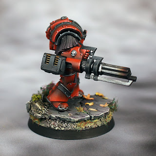Horus Heresy Blood Angels Terminator with Assault Cannon