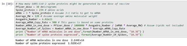 Trying to estimate the number of mRNA molecules in vaccine dose (Source: Palmia Observatory)