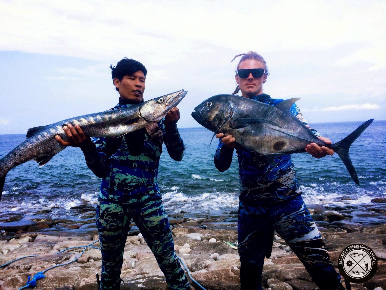 Spearfishing Bali Indonesia, Nusa Penida , Amed GT, Giant Trevally, Dogtooth Tuna, Parrotfish, Coronation Trout, Bluefin Trevally, Black Trevally, Mu, Barracuda, Mu, Maori Seaperch