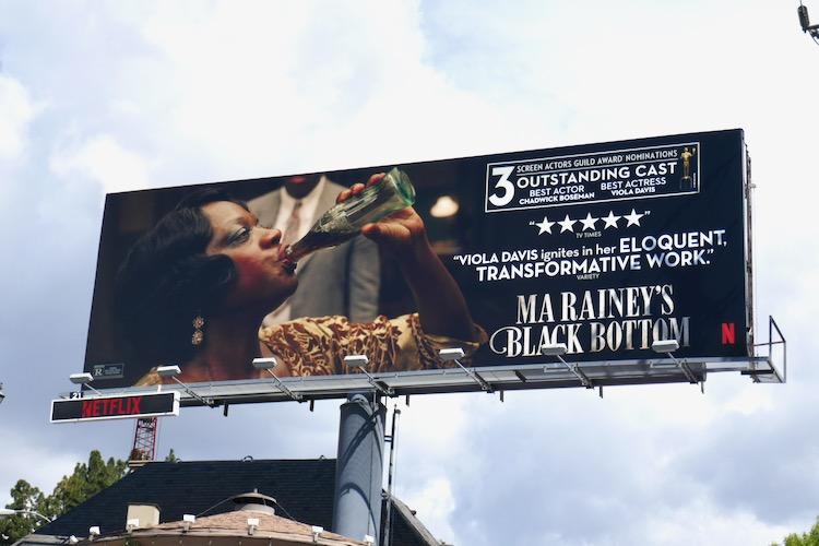 Ma Rainey's Black Bottom nominee billboard