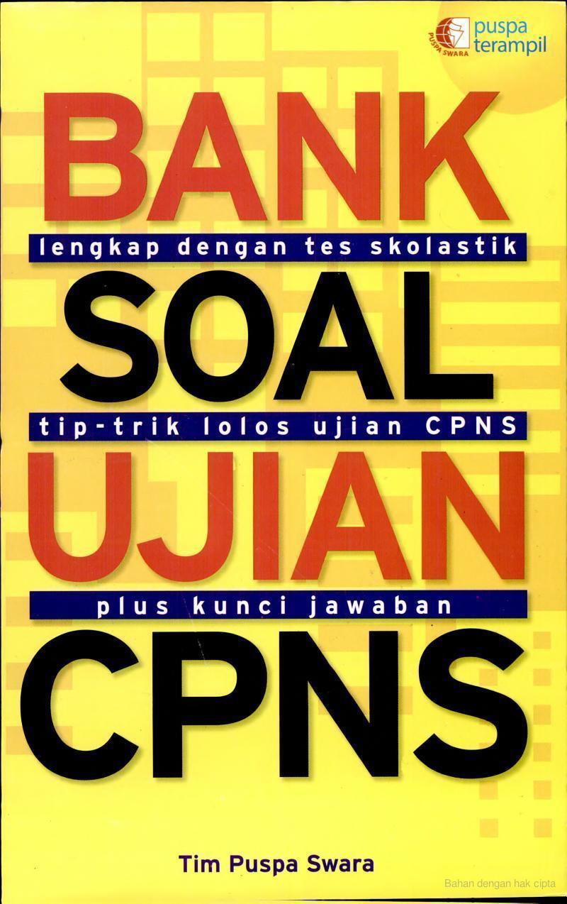 Download Bank Soal Ujian CPNS