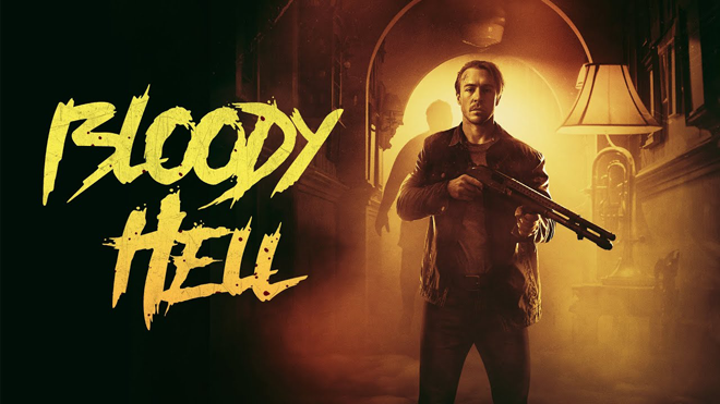 Póster para Bloody Hell (2020)