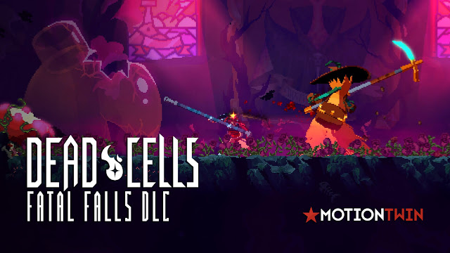 dead cells fatal falls dlc expansion motion twin nintendo switch pc ps4 xbox one roguelike metroidvania game release date january 26