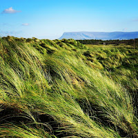 Pictures of Ireland: A windy view of Benbulben