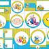 Hora de Aventuras: Invitación y Etiquetas Candy Bar para Imprimir Gratis.