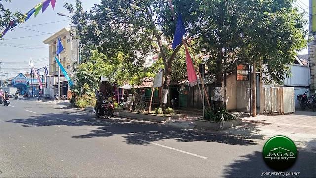 Tanah tepi jalan Gayam dekat Malioboro