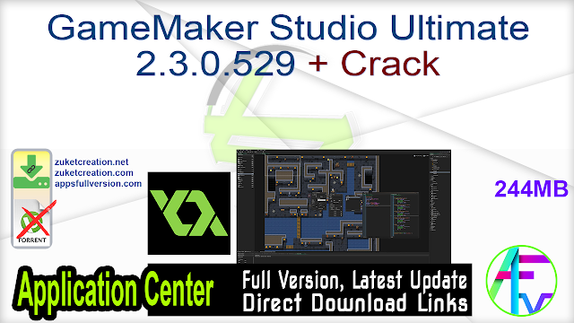 GameMaker Studio Ultimate 2.3.0.529 + Crack