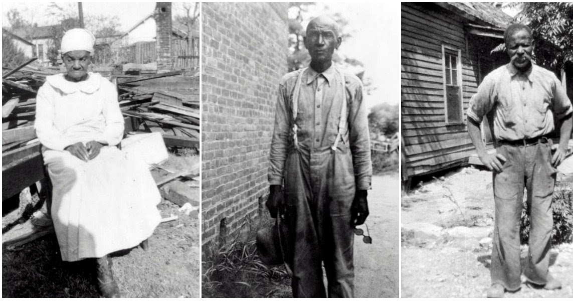 Portraits of African American Ex-Slaves in the Late 1930s