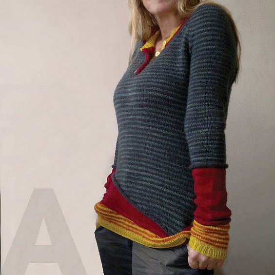 sweter ze wzorem