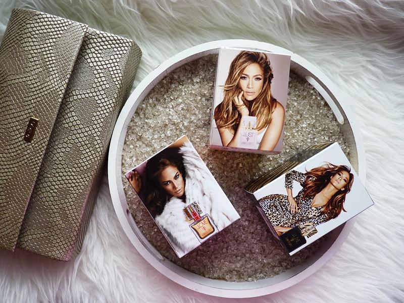 Jennifer Lopez JLOVE JLUXE JLUST perfumy na randkę