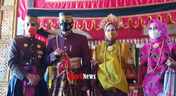 Majelis Adat Kerajaan Gowa Beri,  Pangdam XIV Hasanuddin Gelar Kehormatan Panggilan Karaeng Tonang