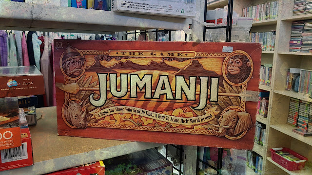 Fancy a game of Jumanji?