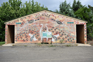 Mural in Yass by Aboriginal Artist